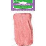 Pink Natural Wool Roving