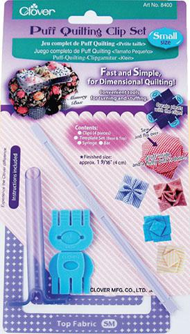Puff Quilting Clip Set - Small CL8400