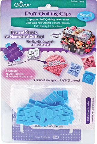 Clover - Puff Quilting Clips Small 12p