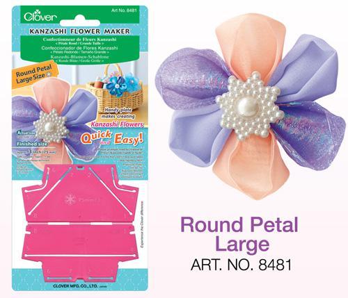 Round Kanzashi Flower Maker Large