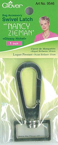 Clover Swivel Latch 1Gloss Nickel cl9546