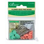 Flower Head Pins Boxed 100ct