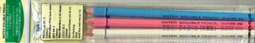 Water Soluble Pencil Asst 3ct
