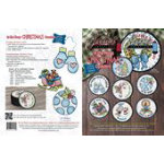 In the Hoop-Christmas Coasters CD, 8 Coaster Patterns/Claudia's Creations