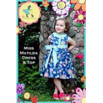 Miss Matilda Dress And Top Pattern