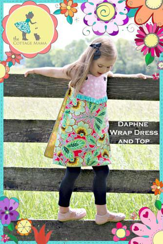 Daphne Wrap Dress and Top