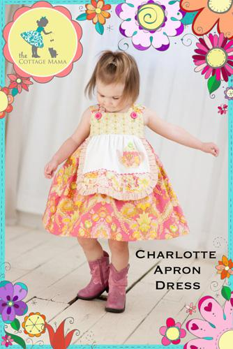Charlotte Apron Dress-Pattern