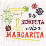 Aunt Martha's Dirty Laundry Margarita  Towel