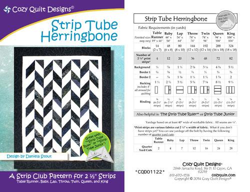 Strip Tube Herringbone