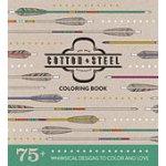 Cotton plus Steel Coloring Book