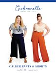 Calder Pants & Shorts Pattern Size 12-32