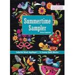 Summertime Sampler Colorful Wool Applique