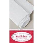 krafttex Paper Fabric White