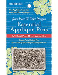 Essential Applique pins