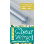 Premium Clear Vinyl Roll 12 Gauge 16 x 1 1/2 yd