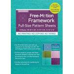 Free Motion Framework Full-Size Pattern Sheets