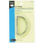 D-Rings Nickel 2in 2 pcs