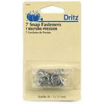 Gripper Snap Nickel sz16  7/16 inch7ct Dritz