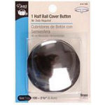 Half Ball Cover Button size100