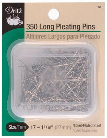 Pleating Pins