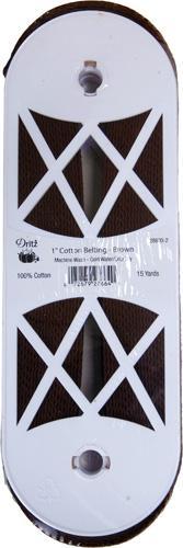 1 Cotton Belting Brown 15yds
