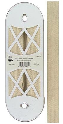 1 Cotton Belting Natural *18