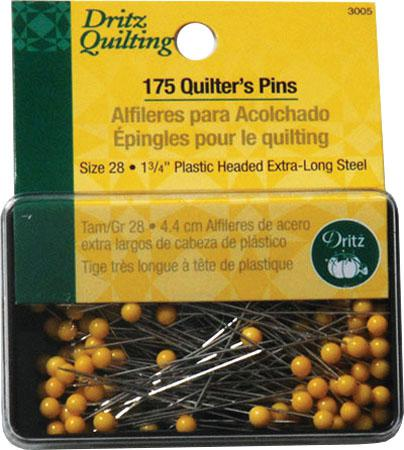 Notions Quilters' Pins 134 150 CT