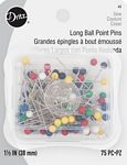 Straight Pins 1-1/2in 75ct/box