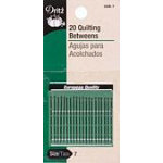 Hand Needles Quilting/ Betweens Size 7 20 ct.
