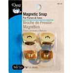 Magnetic Snap Gold 34 Sq 3b