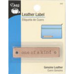 Leather Label Rectangle-One of a Kind