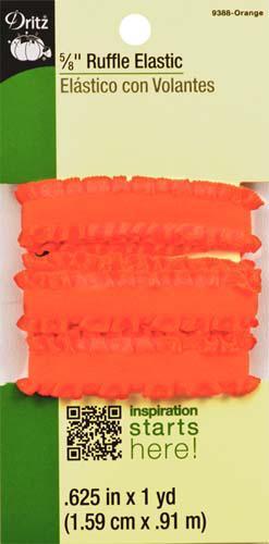 DRITZ 5/8 Ruffle Elastic