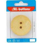 Polyamid Button 45mmLt Yellow