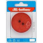 Polyamid Button 45mmDk Orange