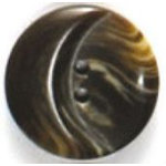 Brown Marbled Step 2-Hole Fashion Buttons 78