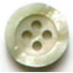 Beige Pearl 4-Hole Fashion Buttons 12