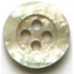 Beige Pearl 4-Hole Fashion Buttons 58