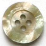 Beige Pearl 4-Hole Fashion Buttons 1116