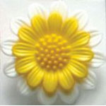 Daisy Fashion Buttons 1 1/8 (28MM)