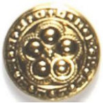 Antique Gold Plated Fashion Buttons 78