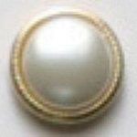 Fashion Buttons 197  24k gold plating