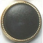 Fashion Buttons 498 24k gold plated 1pk