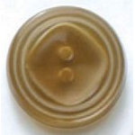 Beige Square in Circle 2-Hole Fashion Buttons 34