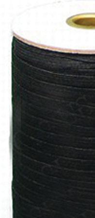 1/4 Flat Elastic - Medium Stretch BLACK (Sold by the yard)