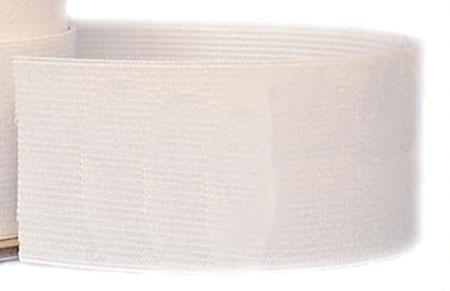 2 Knit Elastic White