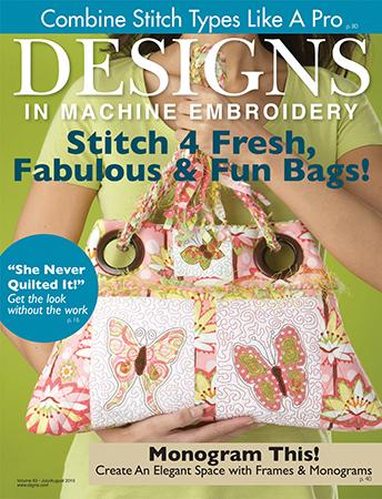 Designs in Machine Embroidery Sept/Oct Issue