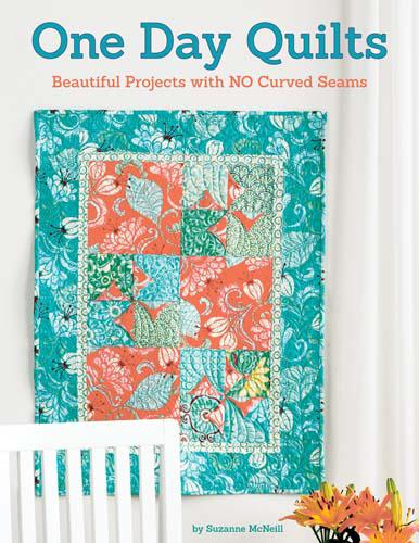 One Day Quilts Book by Suzanne McNeill - 5049