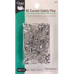 Dritz Curved Safety Pins Size 2 40 count