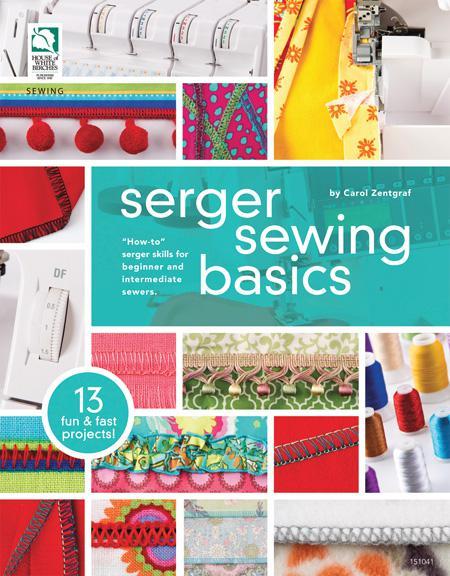Serger Sewing Basics Book