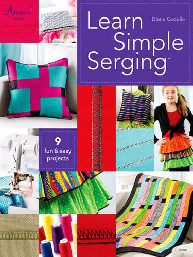 Learn Simple Serging - Annie's Sewing